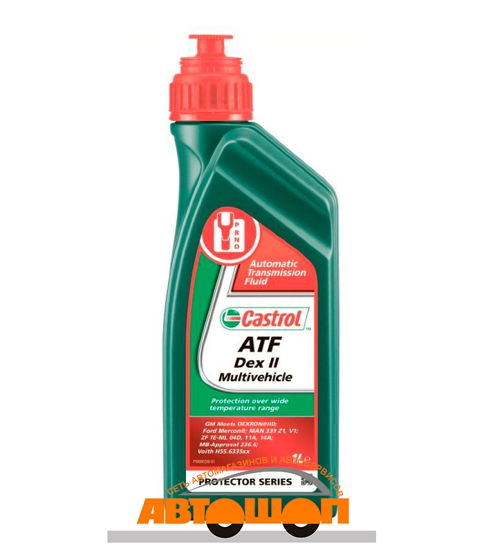 Моторное масло Castrol ATF Dex II Multivehicle, 1 л Масло для АКПП; 157F42