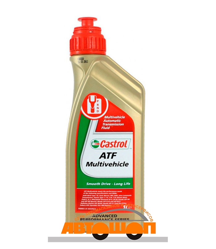 масло Масло для АКПП Castrol ATF Multivehicle, 1 л; 154F33